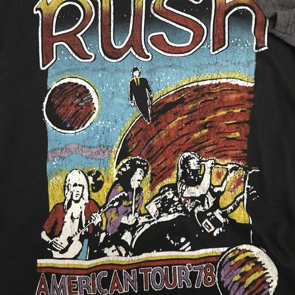 Vintage feel RUSH tshirt